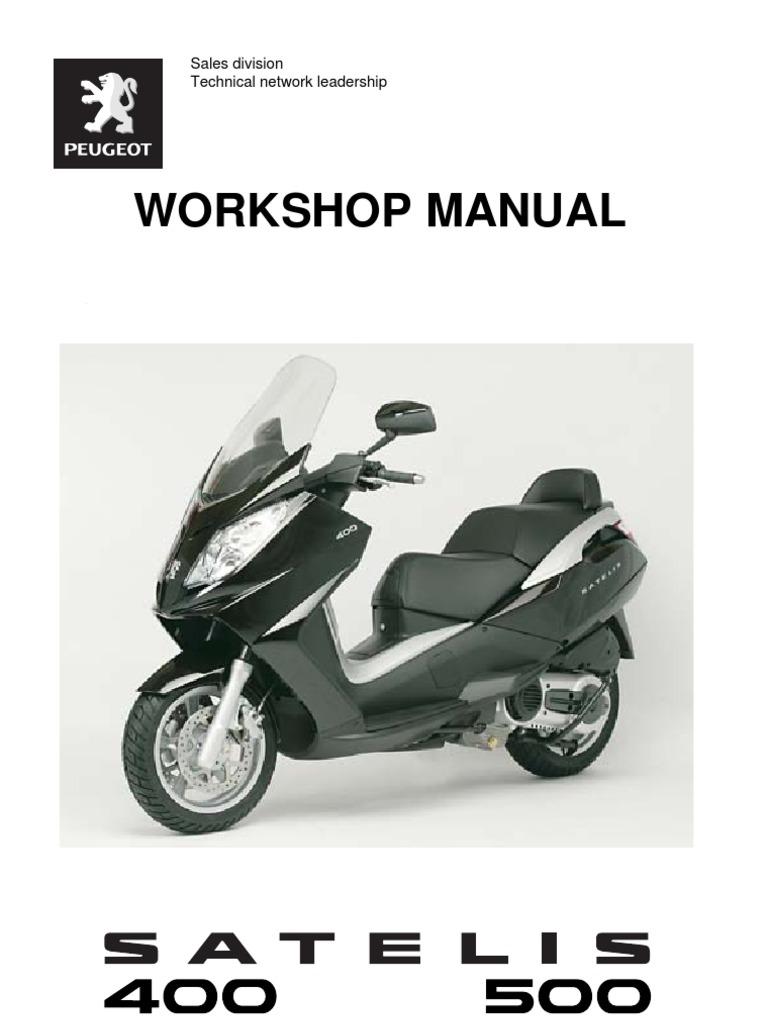 peugeot satelis 400 500 en ignition system fuel injection rh scribd com Peugeot Scooter Dealers Motorcycle Scooter