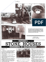 1986 Daily Tribune History of Stone Homes on w Drayton in Ferndale Michigan (990 W. Drayton Avenue and 355 St. Louis Street)