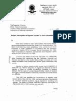 UGC Approval Letter