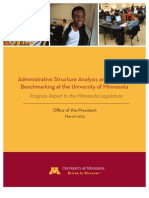 University of Minnesota Spans and Layers Report