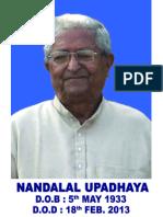 Contribution of Nandalal Upadhaya in the Dairy development of Asam ( Upadhaya's Work segment in the Ribhoi area of present Meghalaya.