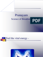 Pranayam studies