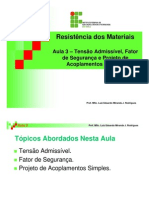 aula3_TENSÃO ADMISSIVEL