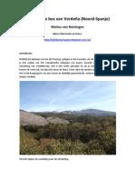 Het fossiele bos van Verdeña (Noord-Spanje)