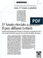Gianni Lettieri fu diffamato secondo i Pm