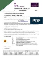 BB Primer 1 Acid - biztonsági adatlap