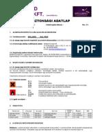 BB Nail Prep - biztonsági adatlap