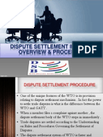 dispute settlement in wto