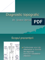 Diagnostic Topografic
