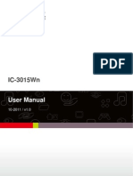 IC-3015Wn User Manual