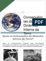 PPT4 - Consequências da actividade Interna da Tera