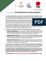 Appel des syndicats - Directeurs des actions pour nous faire entendre - 12 mars 2013.pdf