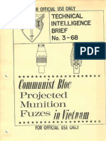 Technical Intelligence Brief No 3-68 - Communist Bloc Projected Munition Fuzes in Vietnam - 1968