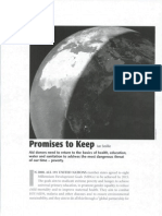 MDG Promises to Keep