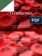 FLEBOTOMIA-exposición