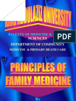 Principles of Family Medicine