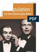 Manipulation - Ne Vous Laissez Plus Faire - Jacques Regard - Eyrolles