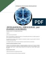 Resumen de Inteligencia Emocional Por Daniel Goleman