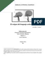 Laitman, Jeffrey T - El Origen Del Lenguaje Articulado