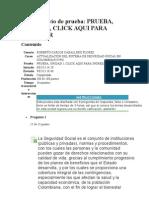 Evaluacion Semana 01 Actualizacion en El Sistema de Seguridad Social en Colombia
