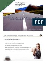 NLP Presentation - David Allen