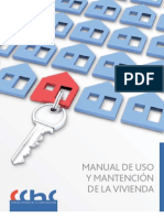 Manual de Uso y Mantencion de La Vivienda