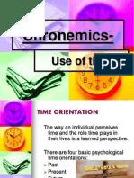 Chronemics & Haptics Notes