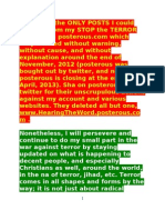 POSTS SALVAGED from my STOP-the-TERROR WEBSITE (shame on posterous/twitter !)