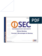 ISEC Ethical Hacking