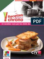 24 Recettes Chrono Saison3