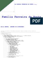 2007-Descendentes de GONÇALO FERREIRA DA PONTE (O Cachaço)