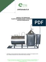 Manual de Operacion Plantas Aceite Esencial