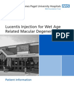 OP 16 Lucentis Injection