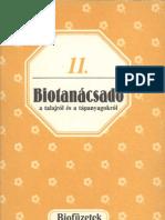 Biofüzetek 11 - Gévay János - Biotanácsadó