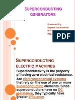 Superconducting Generators
