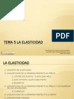 Ejemplos de Elasticidad