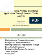 An Approach for Profiling Distributed Applications Through Network Traffic Analysis (Apresentação)