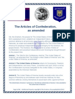 5-The Articles of Confederation, As Amended