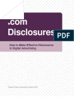 FTC Guide on Online Advertising
