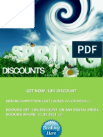 Am Spring Discounts March 2013