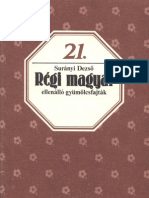 Biofüzetek 21 - Surányi Dezső - Régi magyar ellenálló gyümölcsfajták