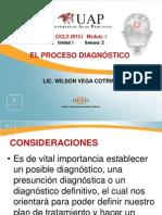 7. EL PROCESO DIAGNÓSTICO