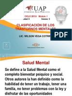 6. CLASIFICACIÓN DE LOS TRASTORNOS MENTALES