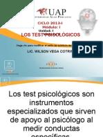 5. Los Test Psicologicos