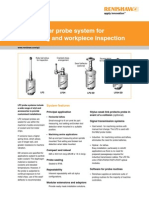 Data Sheet LP2 Modular Probe System for Tool Setting and Workpiece Inspection