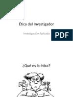 1 2 Etica Del Investigador