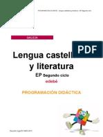 Programacion Lengua 2. Ciclo EP