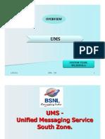 UMS(Uniifiied Messagiing Serviice)