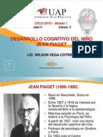 5. Desarrollo Cognitivo. Piaget