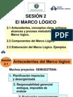Sesion 2 Marco Logico